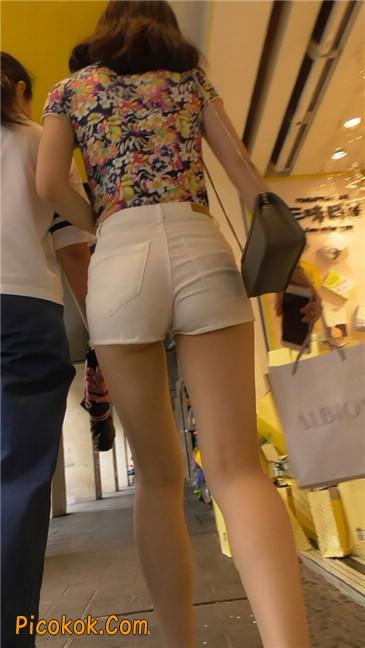 白热裤MM7