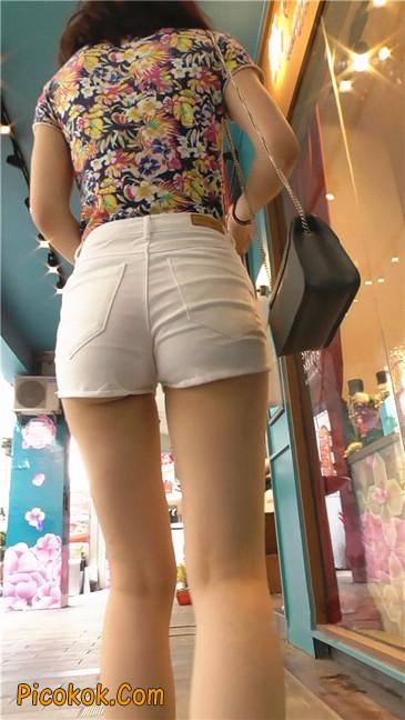 白热裤MM10