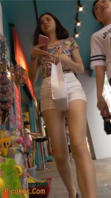 白热裤MM11