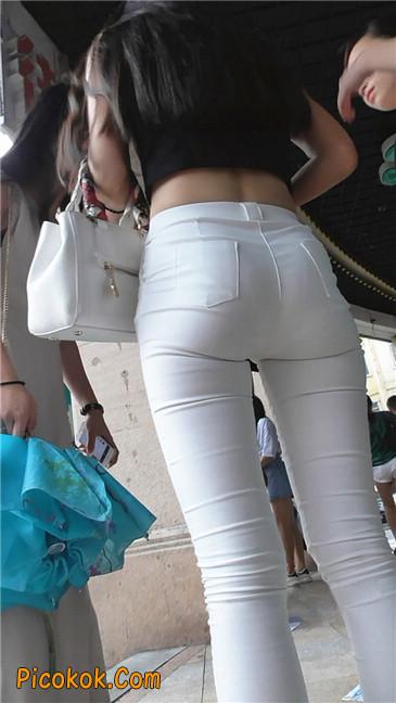 极品白裤翘臀学妹4