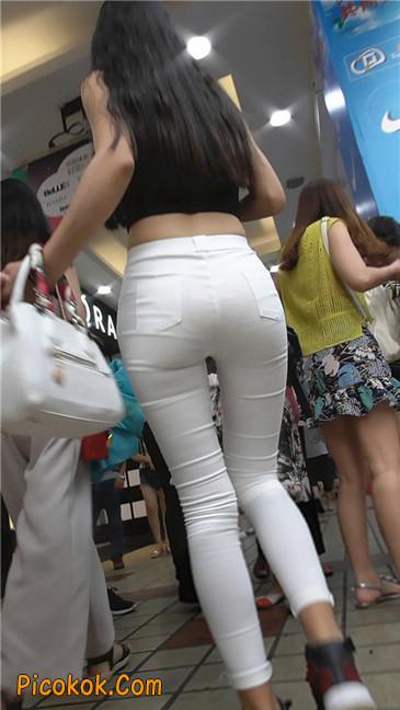 极品白裤翘臀学妹13