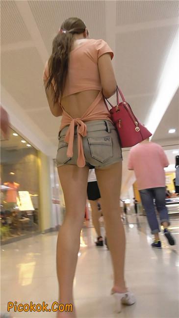 牛仔热裤少妇2