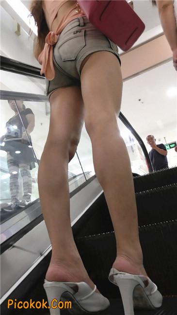 牛仔热裤少妇3
