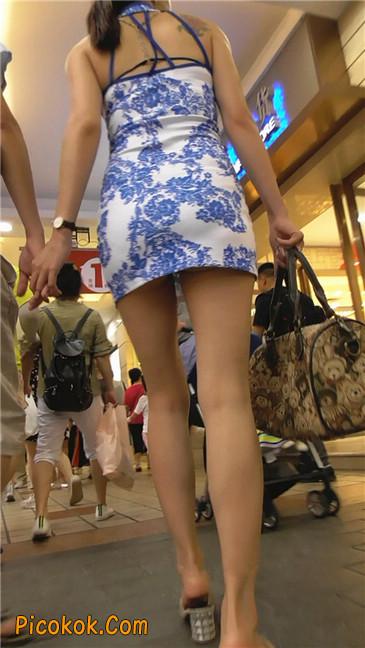 青花齐P包裙3