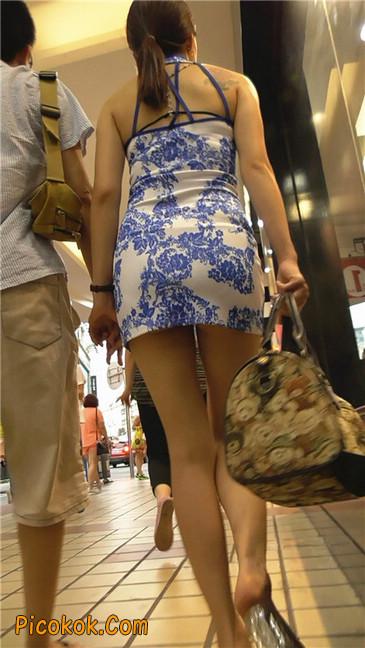 青花齐P包裙8