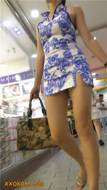 青花齐P包裙14