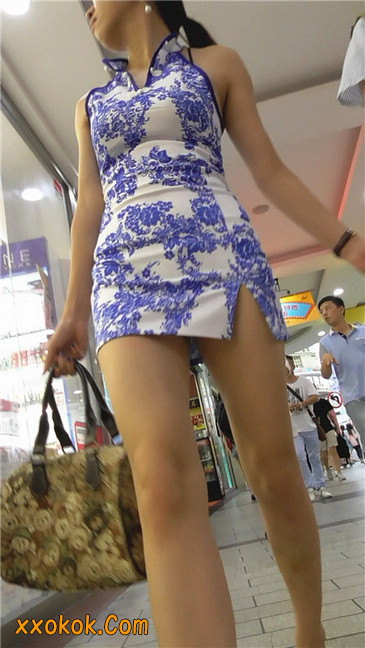 青花齐P包裙15