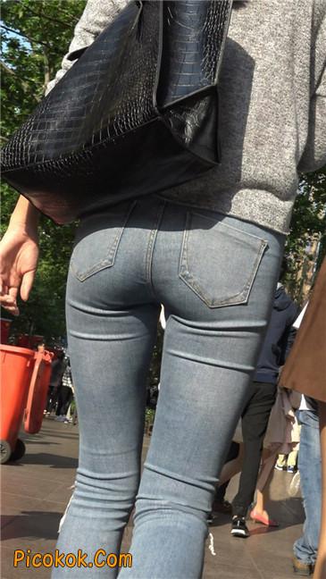 极品翘臀长腿紧牛美女15