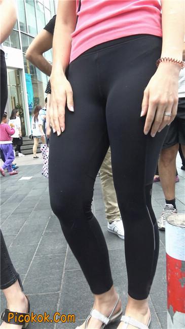 极品黑色紧身软体裤MM1