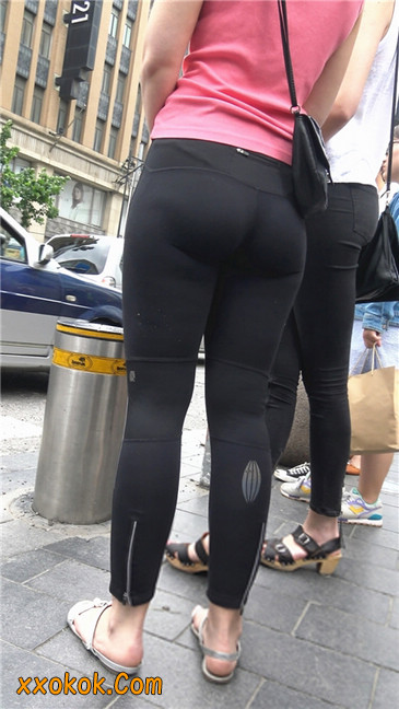 极品黑色紧身软体裤MM4