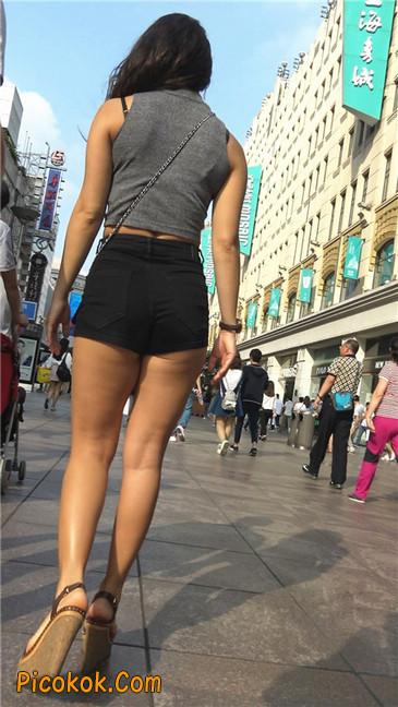 极品黑热裤大翘臀亚裔美妇4