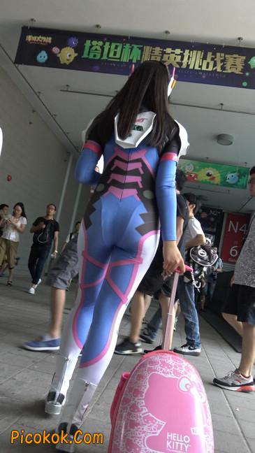 2016CJ-外星紧身蓝衣美女
