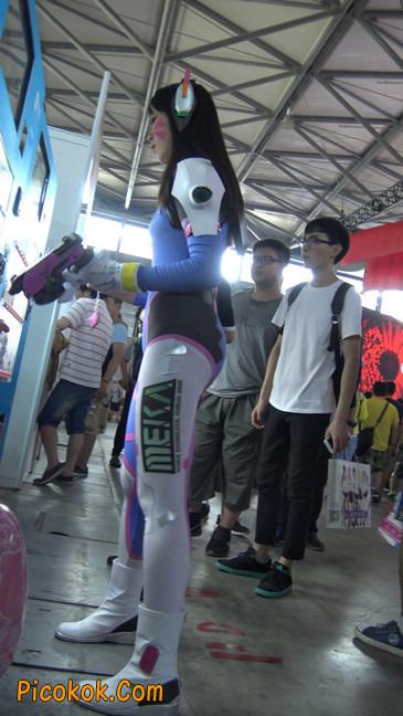2016CJ-外星紧身蓝衣美女3