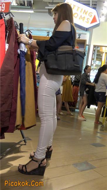 极品丰臀紧身白裤熟女!夹得真紧啊7