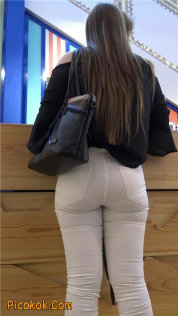 极品丰臀紧身白裤熟女!夹得真紧啊10