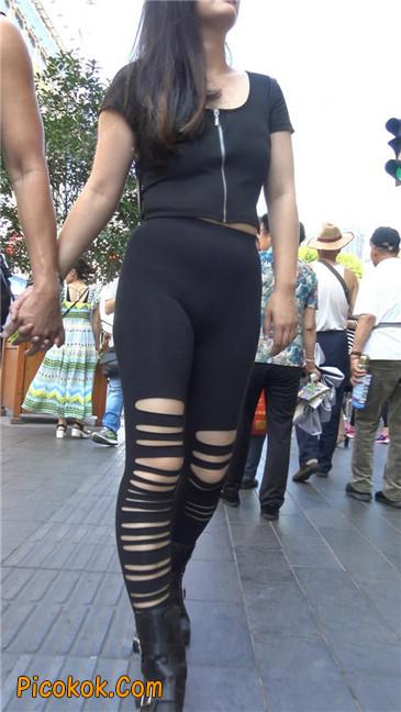 超极品!!紧身黑裤性感紧三角美少妇18