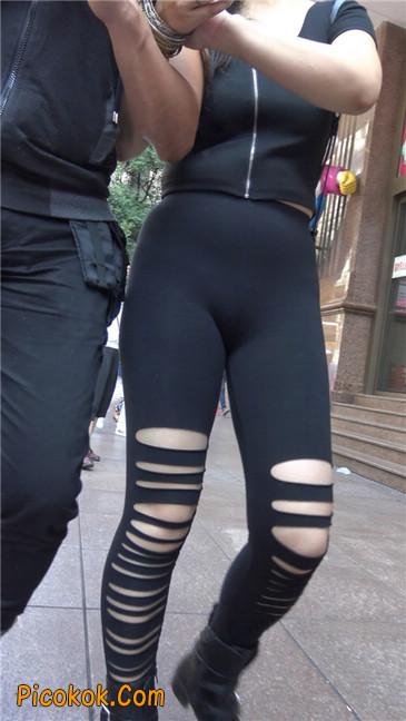 超极品!!紧身黑裤性感紧三角美少妇20