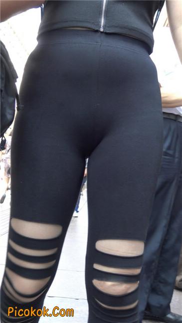 超极品!!紧身黑裤性感紧三角美少妇24