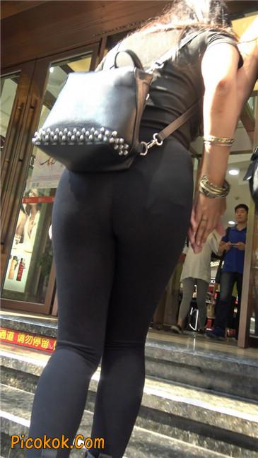 超极品!!紧身黑裤性感紧三角美少妇28