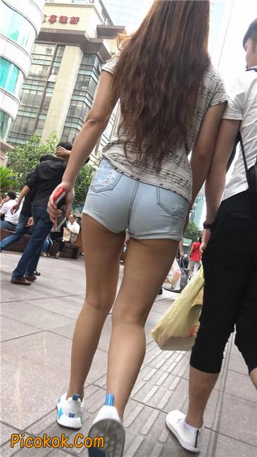 超极品超紧热裤超紧三角丰臀美女10