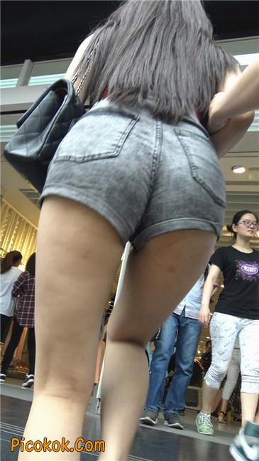 超性感超极品红衣露脐紧三角翘臀凸点美妇15