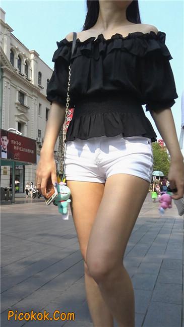 超性感包臀白热裤美女10