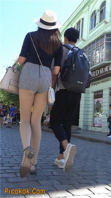 美丽的长腿丝袜女孩7