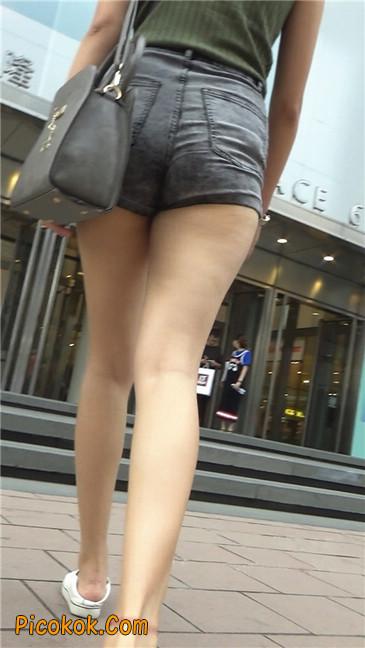 很有气质的长腿热裤美女2