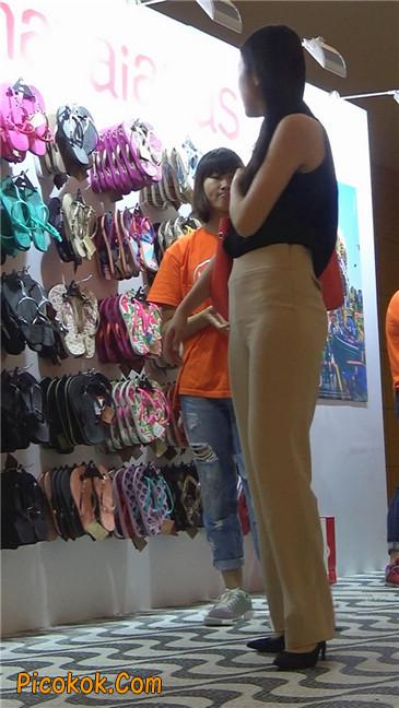 婉约大方束腰长裤,端庄迷人让人心动的美女2