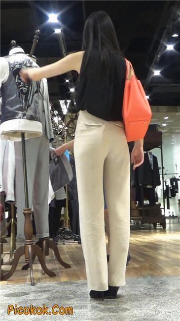 婉约大方束腰长裤,端庄迷人让人心动的美女3