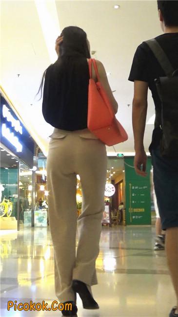 婉约大方束腰长裤,端庄迷人让人心动的美女4