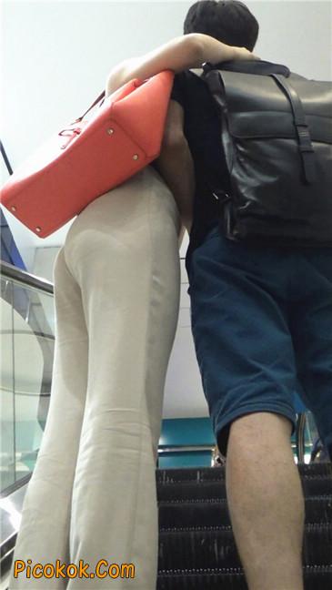 婉约大方束腰长裤,端庄迷人让人心动的美女10