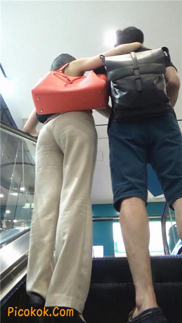 婉约大方束腰长裤,端庄迷人让人心动的美女12