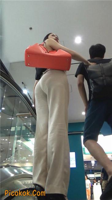 婉约大方束腰长裤,端庄迷人让人心动的美女13