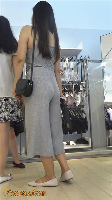 欲望满身的七分长裤少妇3