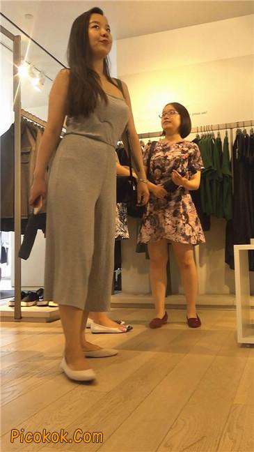 欲望满身的七分长裤少妇6
