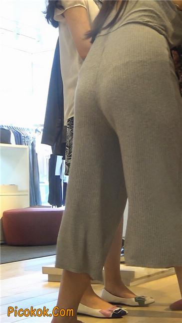 欲望满身的七分长裤少妇9