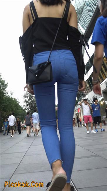 紧身蓝牛长腿MM2