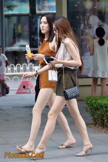 两个极品高跟美腿美女5