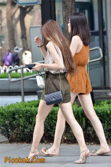 两个极品高跟美腿美女9