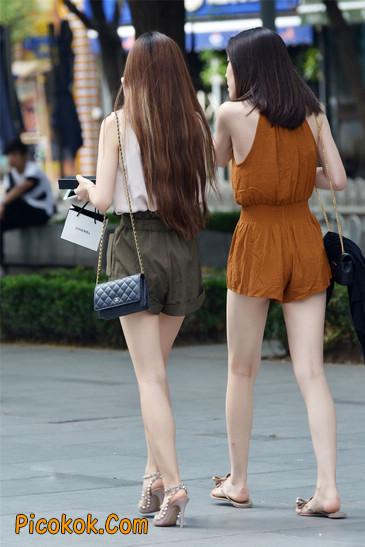 两个极品高跟美腿美女13