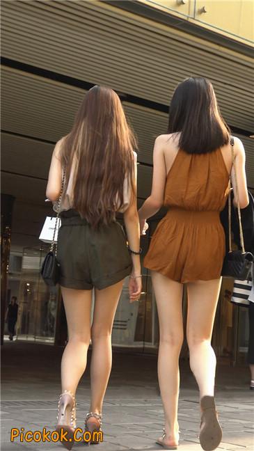 两个极品高跟美腿美女29