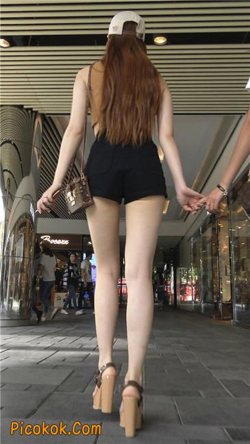 极品高跟黑热裤大长腿美女2