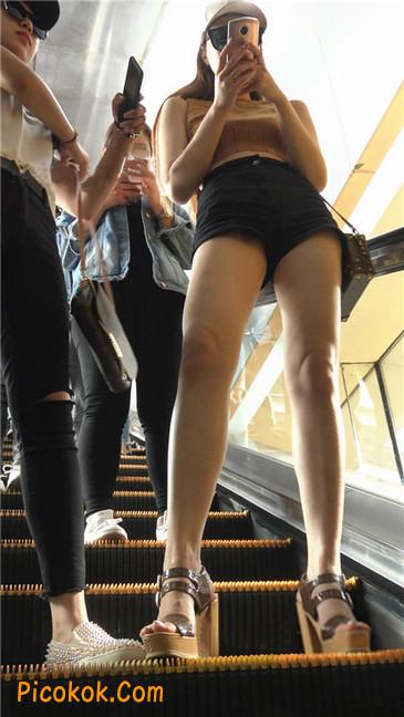 极品高跟黑热裤大长腿美女6