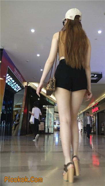 极品高跟黑热裤大长腿美女7