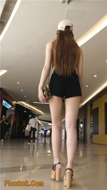 极品高跟黑热裤大长腿美女8