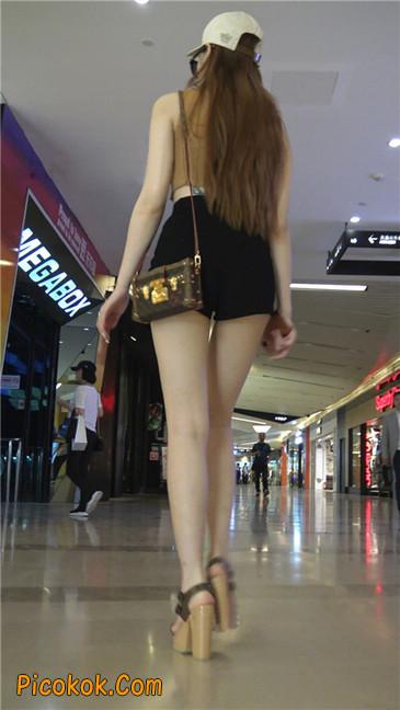 极品高跟黑热裤大长腿美女10