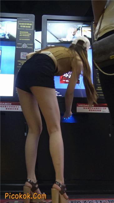 极品高跟黑热裤大长腿美女11