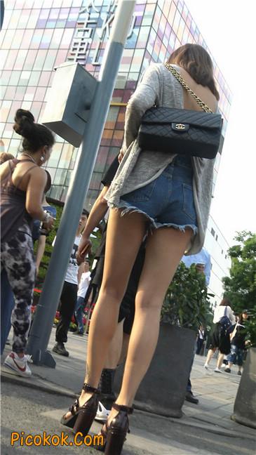 极品大长腿高跟墨镜美少妇9