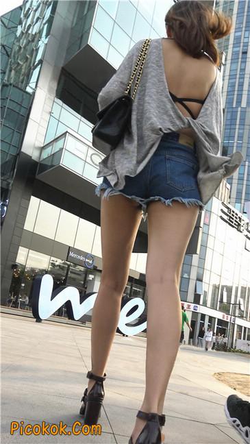 极品大长腿高跟墨镜美少妇11